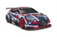 Hyundai Motorsport unwraps electric Veloster N race car