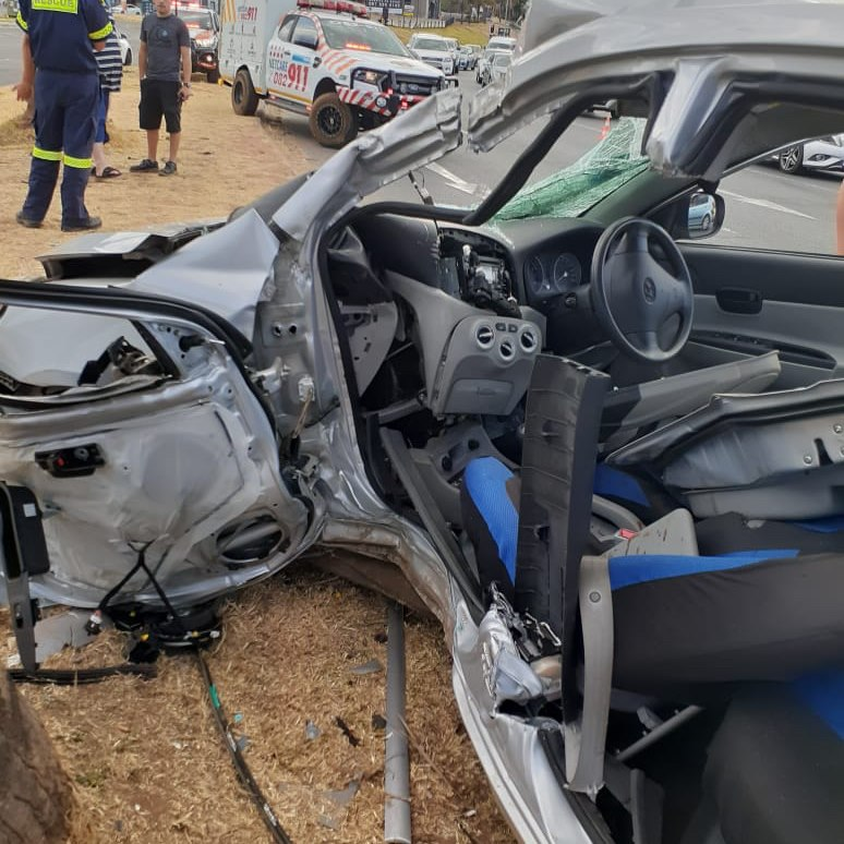 One person critically injured in road crash in Fairlands