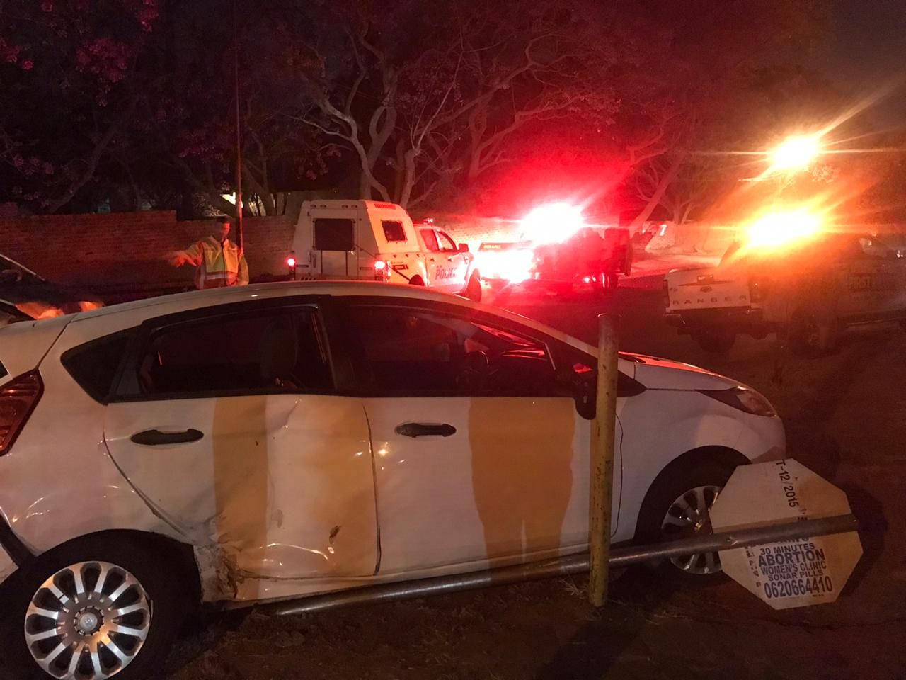 One person injured in collision in Randburg