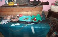 Two male suspects arrested with illegal weapons