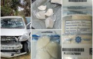 Suspects apprehended for possession of suspected stolen property and drug trafficking