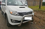 Stolen Fortuner recovered in Ensimbini - Folweni