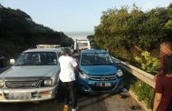 KwaZulu-Natal: Three injured in Tongaat crash