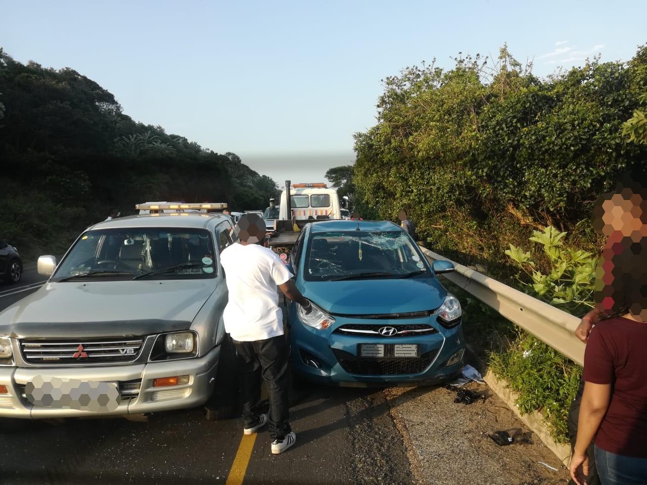 KwaZulu-Natal: Three injured in Tongaat crash