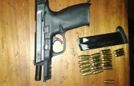 Members of operation lockdown seized unlicensed firearm and a stolen vehicle in Philippi area