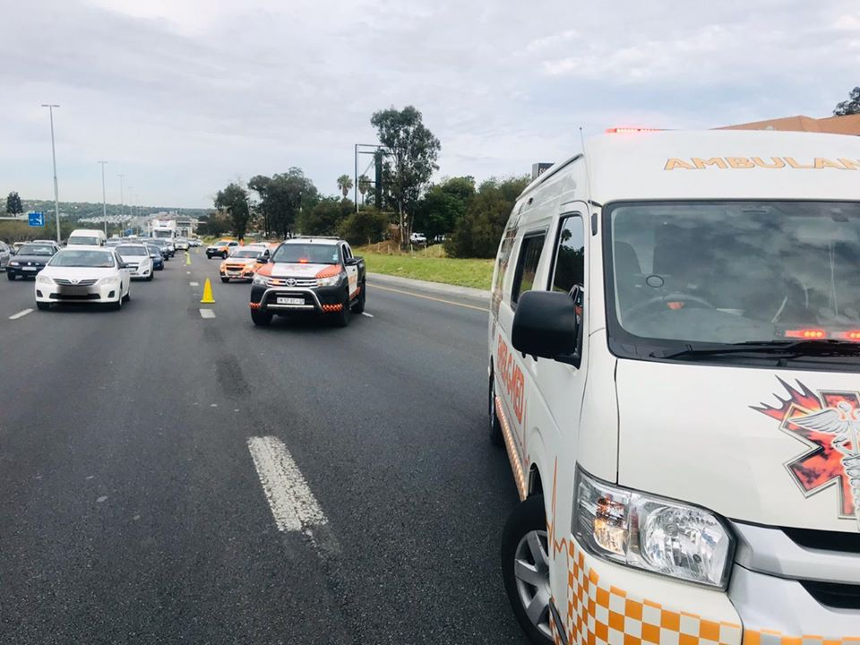 Two injured in N1 collision