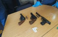 Ocean View SAPS members arrested a suspect with three unlicensed firearms