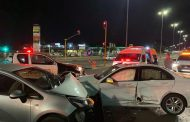 Two-vehicle collision in Pretoria