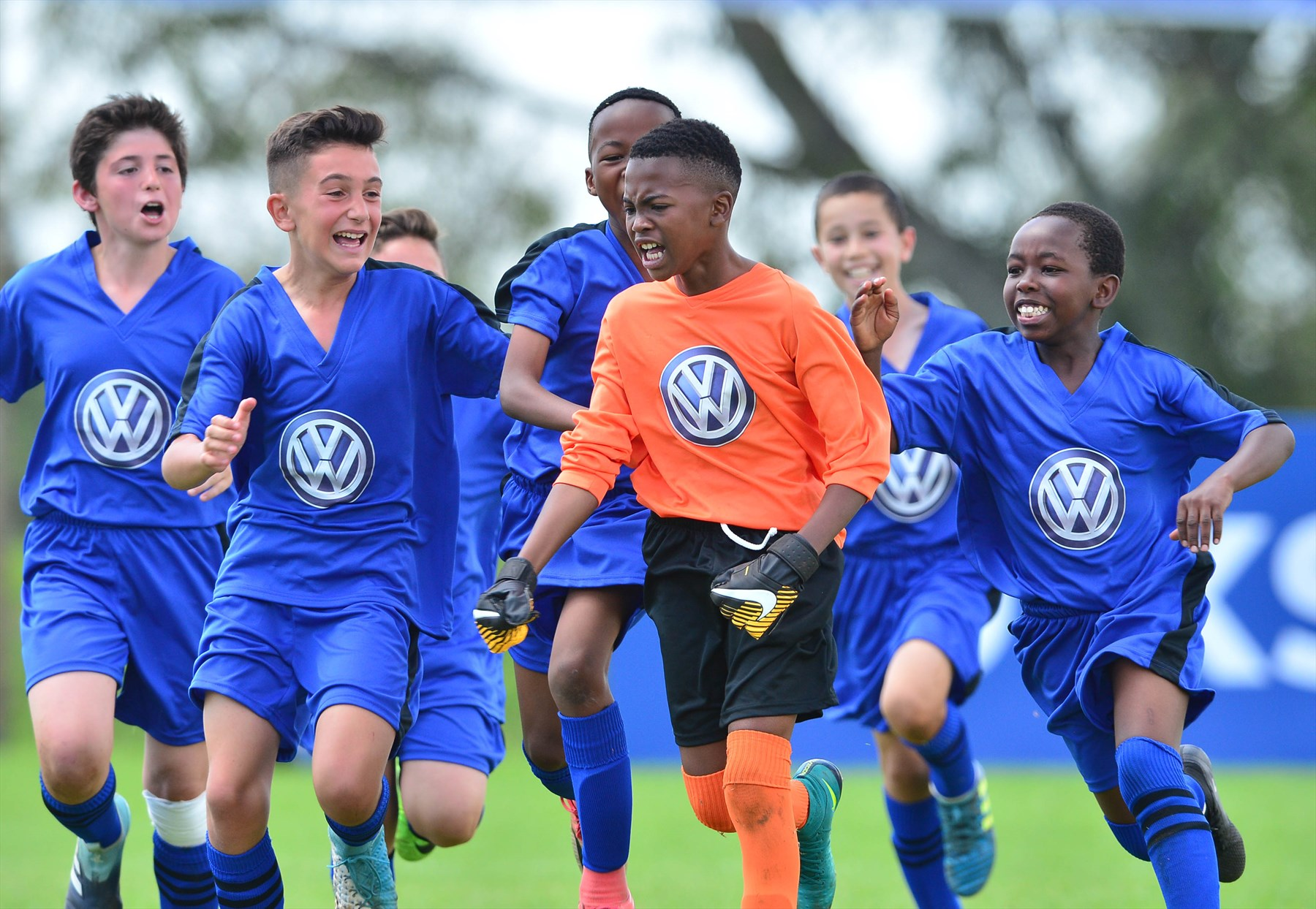 All to play for at this year's Volkswagen Junior Masters Soccer Tournament