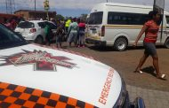 Eight injured in taxi crash in Kimberley