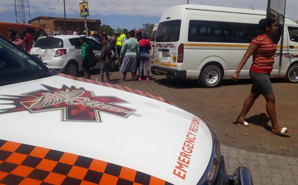 Eight injured in taxi crash in Kimberley