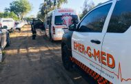 Motor cross rider treated after fall from bike