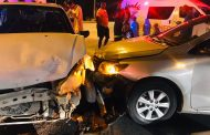 Four injured in collision at intersection in Cosmo City