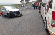 Collision on the N5 between Bethlehem and Kestel