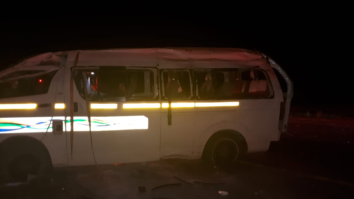 Gauteng: Four dead, two critical in N1 rollover
