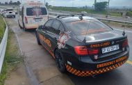 One injured in a two-vehicle collision on the N1