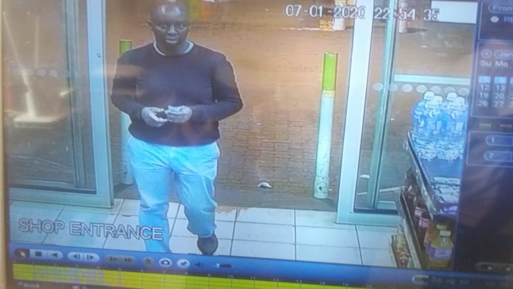 Man wanted for questioning