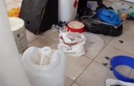 Drug lab closed down at West End in Kimberley.