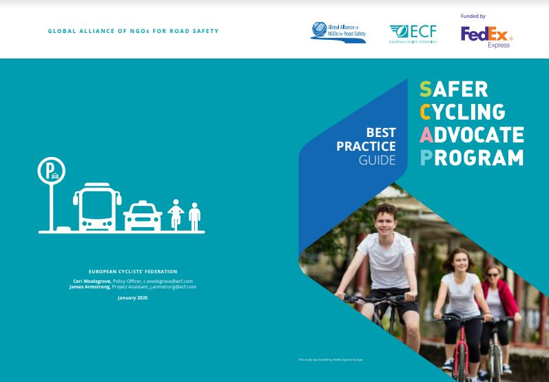 New publication gathers best practices of the Netherlands and Denmark, to help NGOs promote safer cycling in Europe
