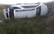 Five injured in a vehicle rollover between Fouriesburg and Ficksburg