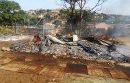 Classroom destroyed in a fire in Waterloo - KZN