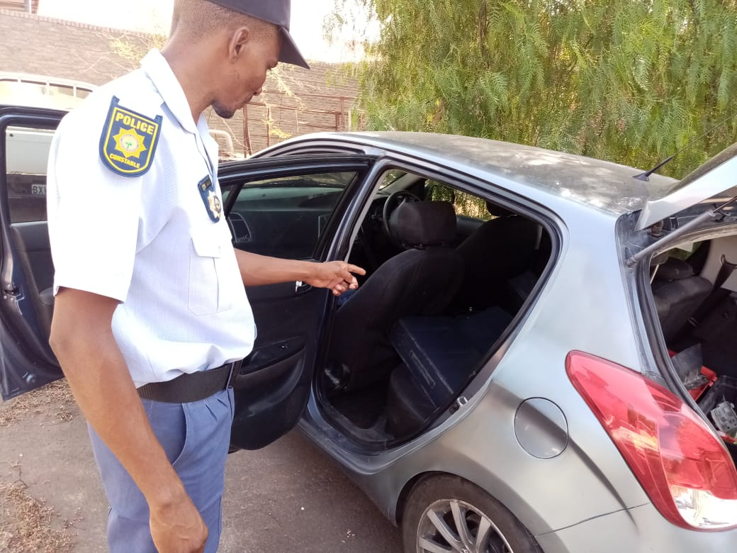 Three men arrested by Batlharos SAPS for being in possession of suspected stolen property