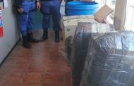 Three suspects arrested for unlicensed firearm and dagga