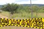 Police launch a manhunt following a farm attack