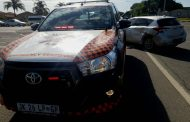 Collision at intersection in Radiokop
