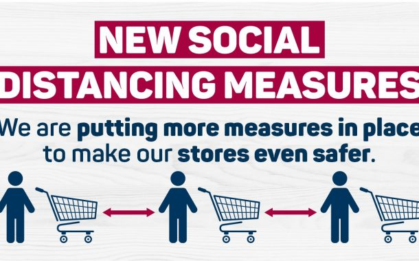 Pick n Pay announces measures to ensure social and physical distancing for safer shopping!