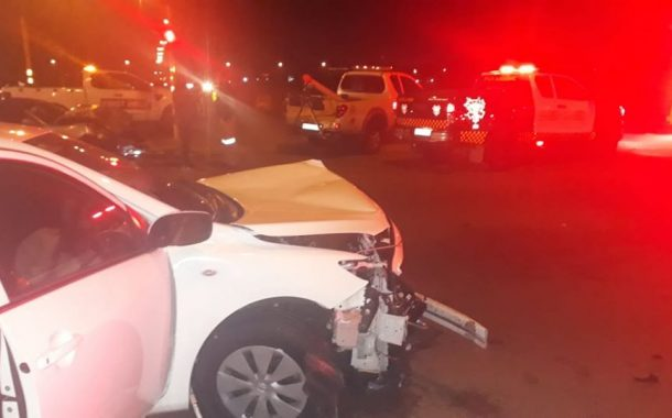 One injured in a vehicle collision in Bonaero Park