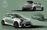 How a 100% Made by Abarth spoiler comes about