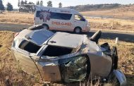 Two injured in rollover on the N5
