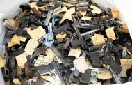 SAPS destructs and melts over 30 thousand firearms