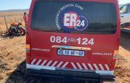 Biker thrown off bike, left seriously injured in Maropeng