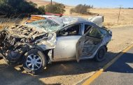 Four injured in vehicle rollover on the R34 Memel road