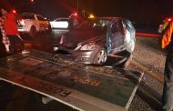 Fortunate escape from injury a in road crash in Boksburg