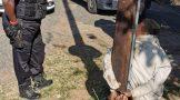 Homeowner apprehends suspect in Brindhaven