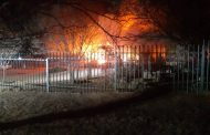 Fortunate escape from injury in house fire in Harrismith