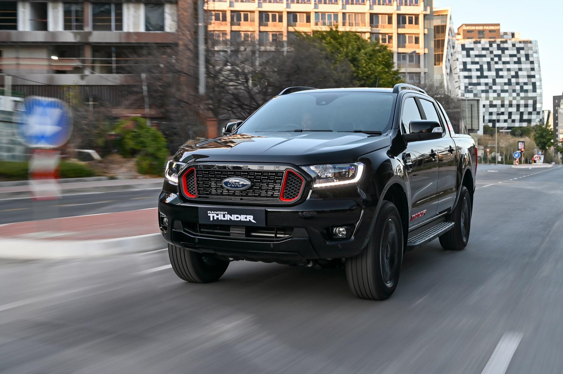 Ford Introduces Limited-Edition Ranger Thunder, Spec Upgrades on Ranger XLT, XLS