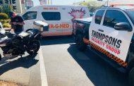 Biker injured in motorcycle crash in Randburg