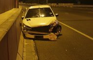 Fortunate escape from injury on the N12 East, Putfontein