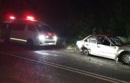 Vehicle overturned in Ndwedwe, KZN
