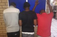Three arrested for robbery in Kathu