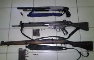 Brothers among those nabbed with illegal firearms