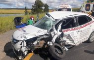 Two injured as a truck and car collide on the N3, Harrismith