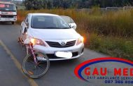 Cyclist injured in a collision in Kempton