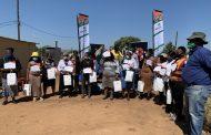 Bakwena's food security project bears fruit