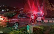 Vehicle Crashes Into Concrete Barrier: Verulam - KZN