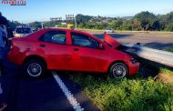 Road crash on the N3 Durban bound after the Spine Road bridge.